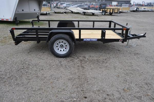 2021 Sure-Trac 5 x 10 Tube Top Utility Trailer For Sale