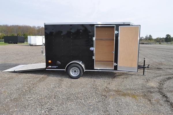 2021 American Hauler 6 x 12 Wedge Nose Enclosed Cargo Trailer For Sale