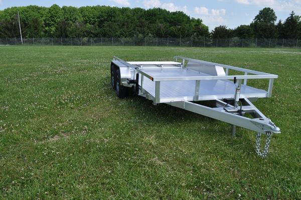 2021 Sure-Trac 7 X 14 Aluminum Tube Top  7K Trailer for Sale.