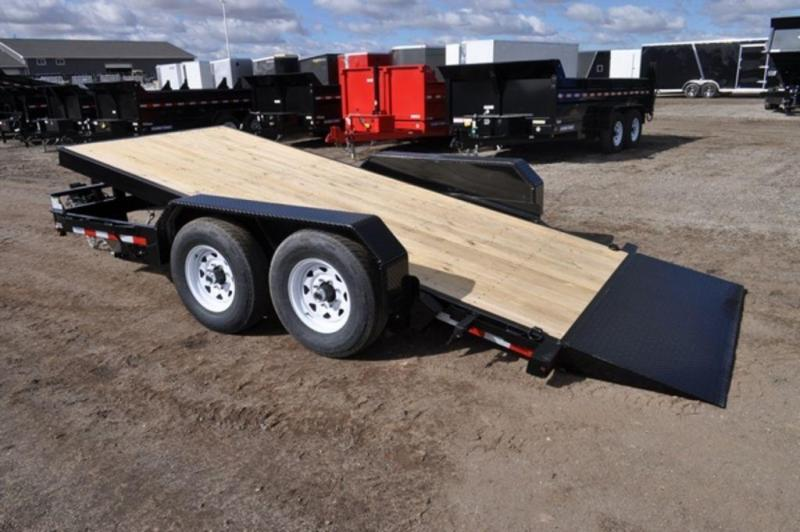 2019 Sure-Trac 7 x 16 HD 10K Tilt Equipment Trailer For Sale