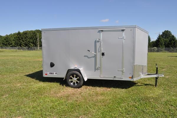 2020 Haul-it All Aluminum 6 x 12 Enclosed Cargo Trailer For Sale