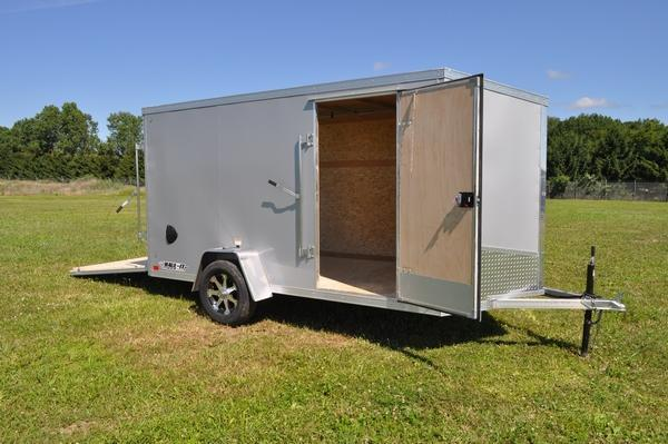 2020 Haul-it All Aluminum 6 x 12 Enclosed Cargo Trailer For Sale