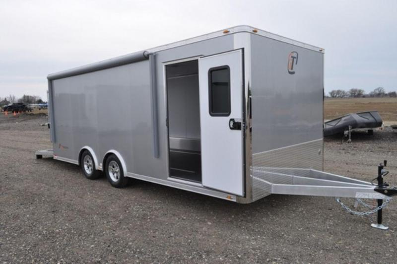2018 inTech All Aluminum 8.5 x 20 Custom Car Trailer - Special Order