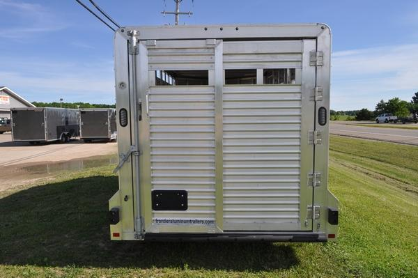 2020 Frontier 7 x 16 All Aluminum Livestock