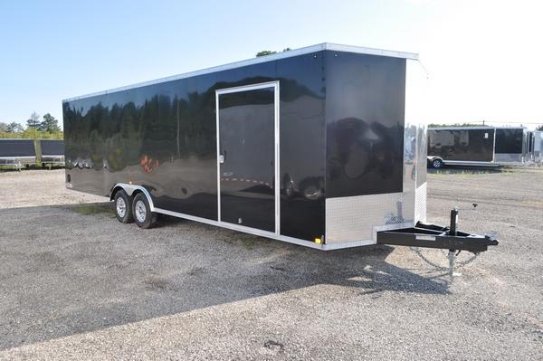 2019 Haul-it 8.5 x 28 Wedge Nose Car / Racing Trailer For Sale