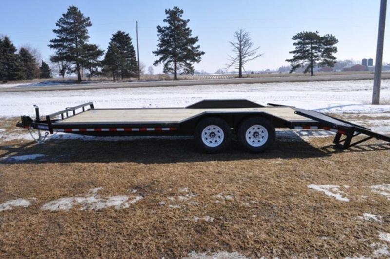 2019 Sure-Trac 101 x 22 Drive Over Fender Car/Equipment Trailer For Sale