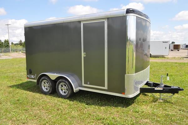 2019 Haul it 7 x 14 Enclosed Cargo Trailer W Barn Doors for Sale