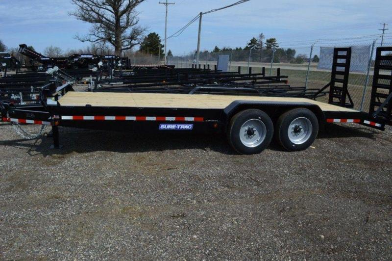2019 Sure-Trac 7 x 20 HD 16K Implement Trailer For Sale