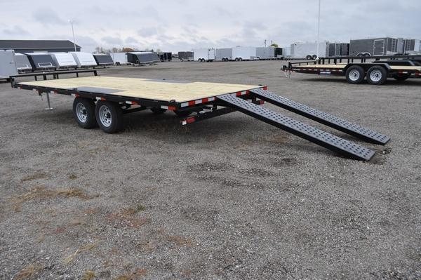 2021 Sure-Trac 8.5 x 20 Low Profile Flat Deck Deckover For Sale
