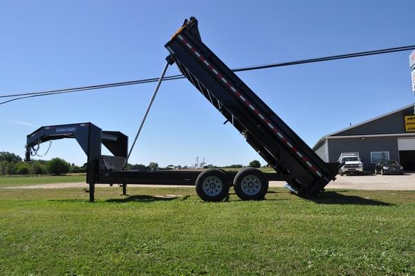 2021 Sure-Trac 82 IN X 16 LP 14K Goose Telescopic Dump For Sale