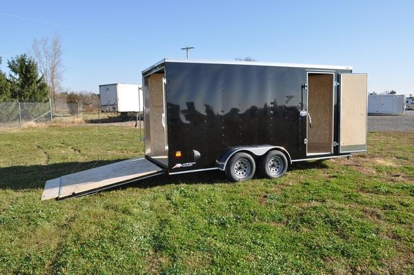 2021 American Hauler 7 x 16 Wedge Nose 7' Tall Enclosed Cargo Trailer For Sale