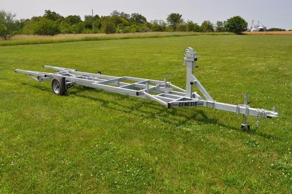 2021 Genesis 20' Crank Up Pontoon Trailer Watercraft Trailer For Sale