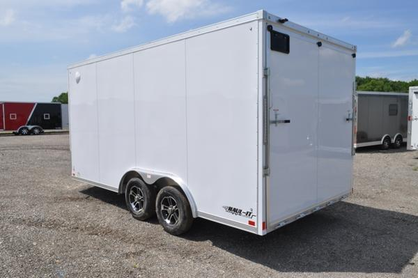 2020 Haul-it 8.5 x 16 Wedge Nose All Aluminum Enclosed Cargo Trailer For Sale