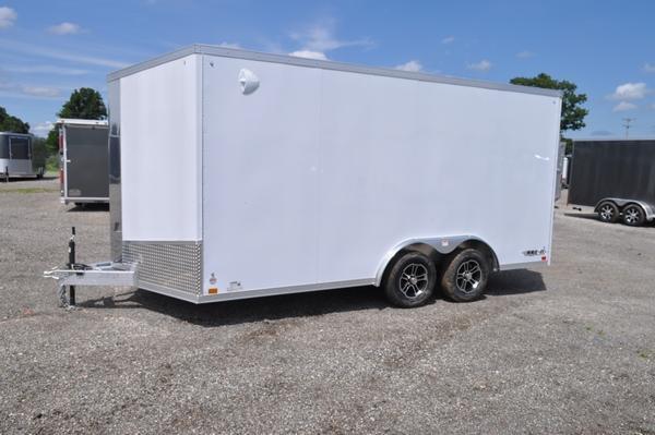 2020 Haul-it 8.5 x 16 Wedge Nose All Aluminum Enclosed Cargo Trailer For Sale