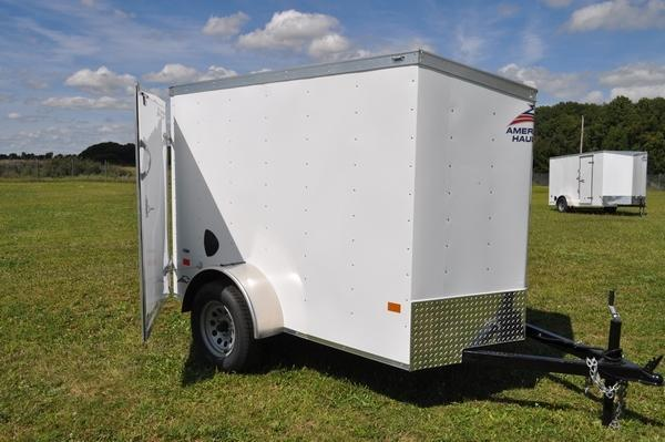 2021 American Hauler 5 x 8 Wedge Nose Enclosed Cargo Trailer For Sale