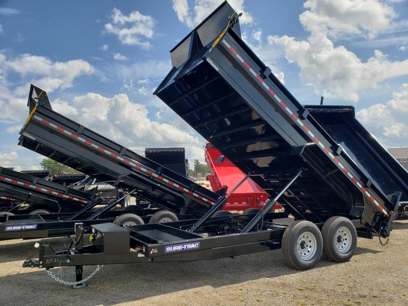 2022 Sure-Trac 82 IN x 16 HD Low Profile Dump Trailer For Sale.