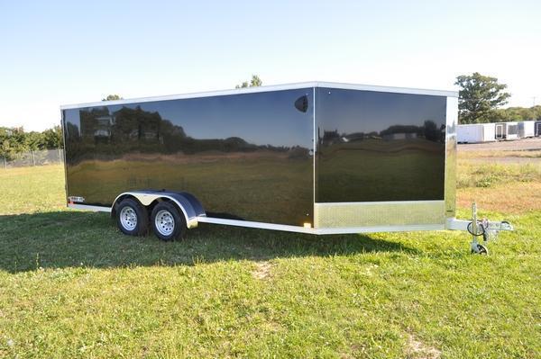 2021 Haul-it All Aluminum 7 x 23 Inline Snowmobile Trailer For Sale