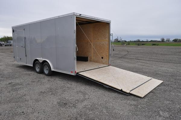 2022 Haul-it 8.5 x 20 Wedge Nose Car / Racing Trailer For Sale