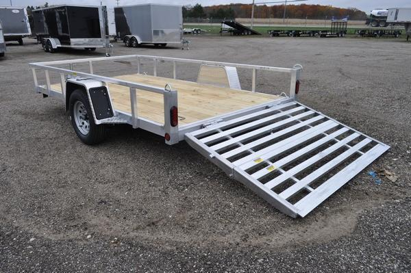 "2021 Haul-it 80"" x 12' All Aluminum Utility Trailer For Sale"