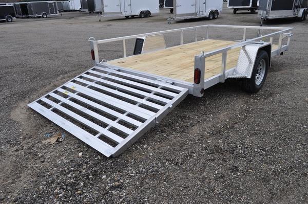 "2021 Haul-it 80"" x 12' All Aluminum Utility Trailer For Sale"