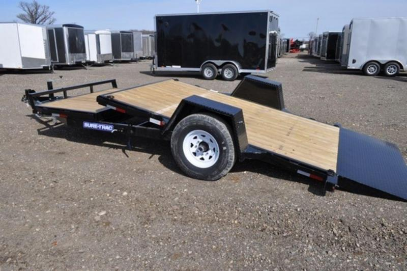 "2019 Sure-Trac 78"" x 12 + 4 Tilt Equipment Trailer For Sale"