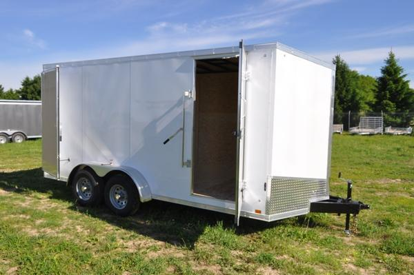 2021 Haul-it 7 x 16 H.D. Construction Enclosed Cargo Trailer For Sale
