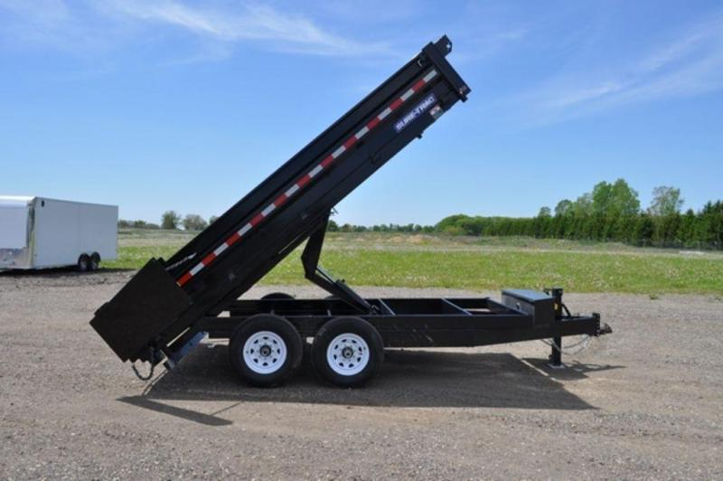 "2019 Sure-Trac 96"" x 14' Drop Side Dump Trailer For Sale"