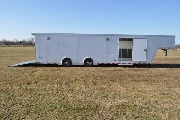 2020 inTech Trailers 8.5 x 40 All Aluminum Gooseneck Car / Racing Trailer For Sale