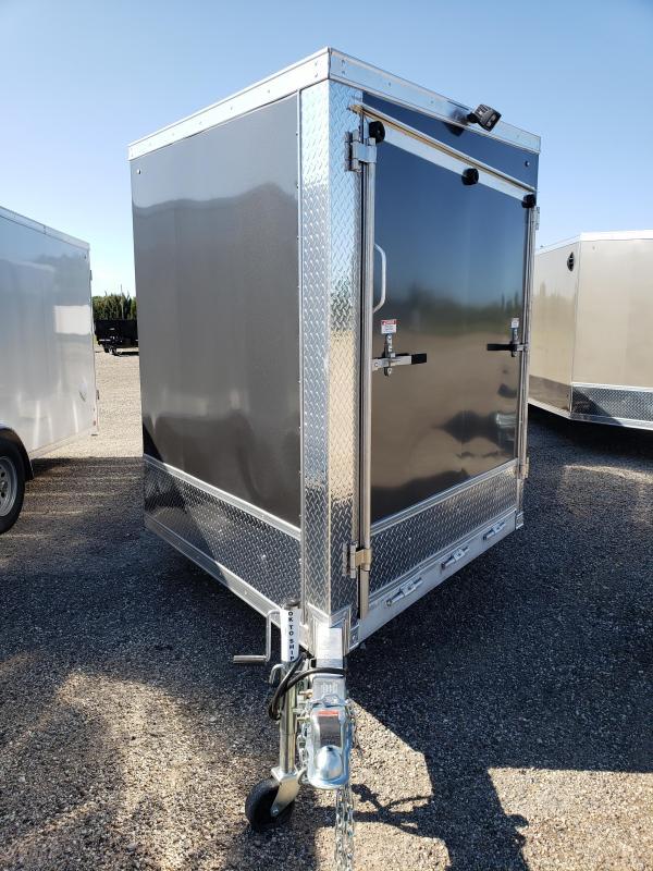 2022 Discovery Trailers 7x29TA35 Aero Lite SE Aluminum Snowmobile Trailer For Sale.