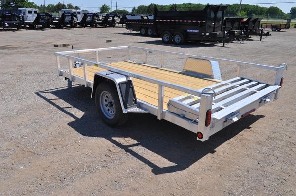 "2021 Haul-it 74"" x 12' All Aluminum Utility Trailer For Sale"