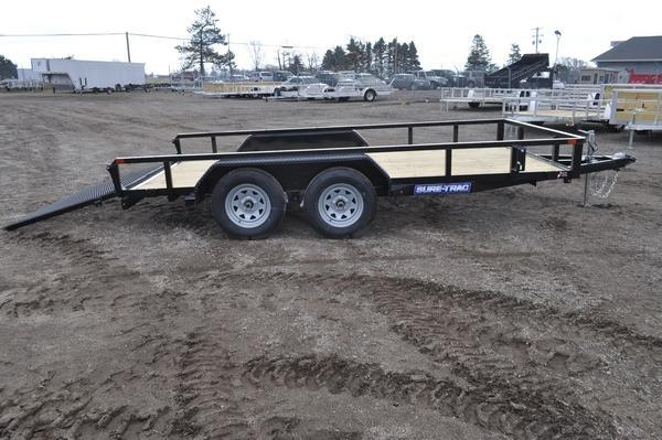 2021 Sure-Trac 7 x 14 Tube Top Utility Trailer For Sale