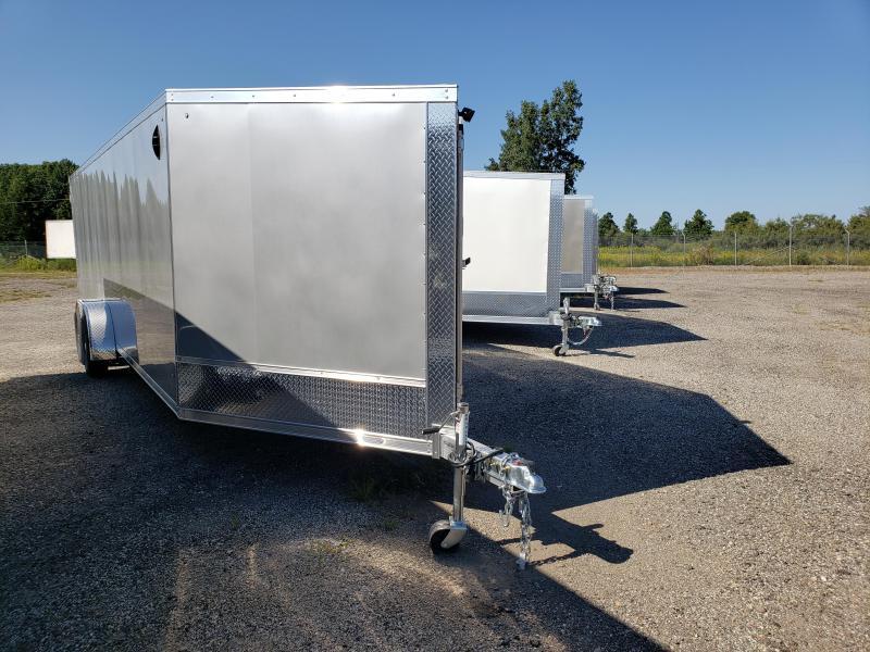 2022 Discovery Trailers 7x29TA35 Aero Lite SE Aluminum Snowmobile Trailer For Sale