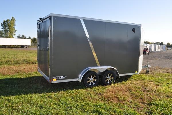 2020 Haul it All Aluminum 7 5 x 19 Snowmobile Trailer For Sale