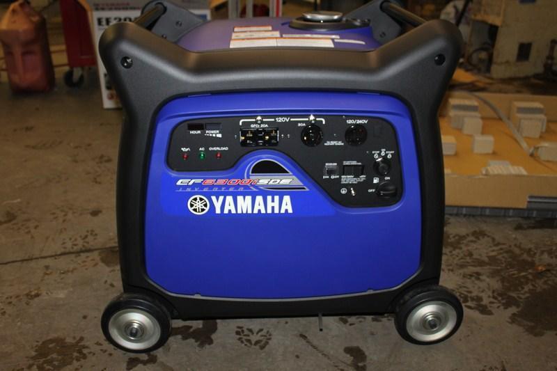2016 Yamaha 6300 ISDE Generator