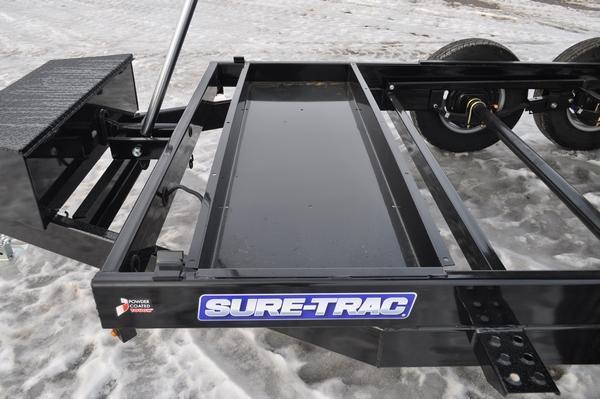 2021 Sure-Trac 82 IN x 12 HD Low Profile Dump Trailer  For Sale