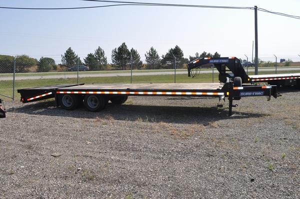 2019 Sure-Trac 8.5 x 20 + 5 Tandem Duelly Equipment Trailer For Sale