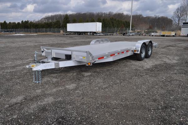 "2021 Haul-it 82"" x 20' All Aluminum Open 10K Car / Racing Trailer For Sale"