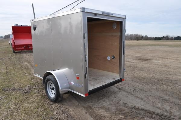 2020 American Hauler 5 x 8 Wedge Nose Enclosed Cargo Trailer For Sale