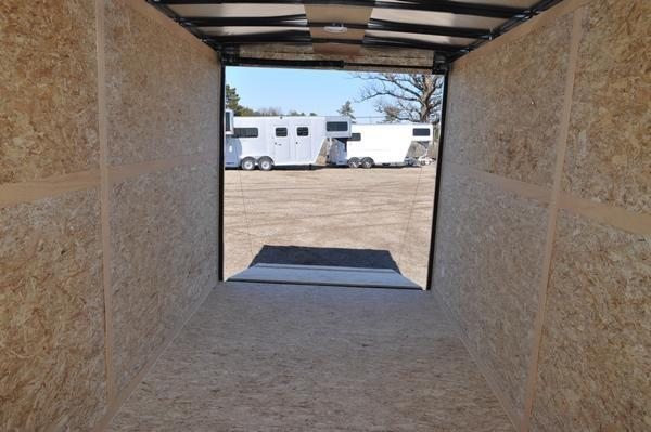 2022 Haul-it 7 x 16 Wedge Nose 7' Tall Enclosed Cargo Trailer For Sale