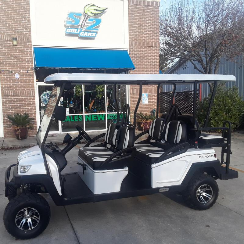 2021 Bintelli 6-seat lifted Golf Cart