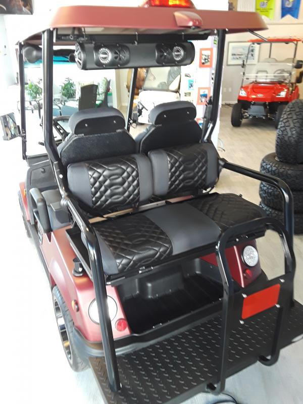 2021 Tomberlin E2 GT Coupe Golf Cart