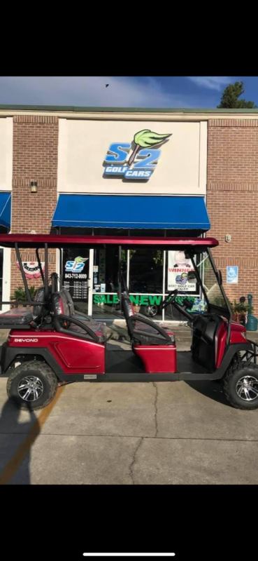 2021  Bintelli Beyond LSV Golf Cart