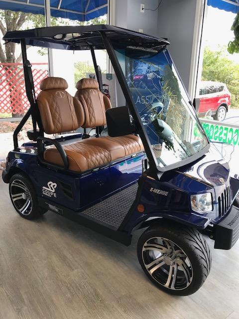 2019 Tomberlin SS Coupe Golf Cart