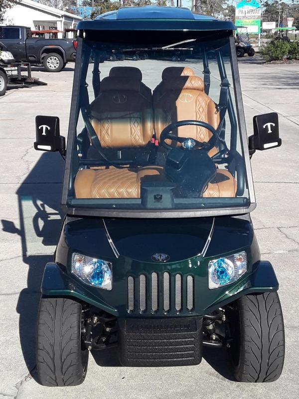 2021 Tomberlin E4 SS Saloon Golf Cart