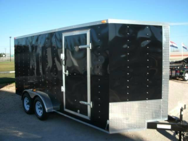 2020 Deep South 7 x 16 Tandem Axle Enclosed Cargo Trailer