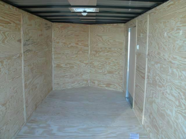 2021Deep South 7 x 16 Tandem Axle Enclosed Cargo Trailer