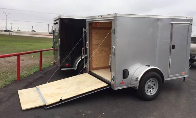 2020 Continental Cargo 5 x 8 Single Axle Enclosed Cargo Trailer