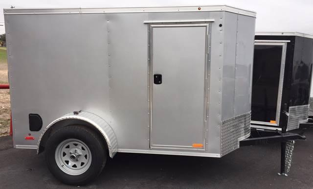 2019 Continental Cargo 5 x 8 Single Axle Enclosed Cargo Trailer