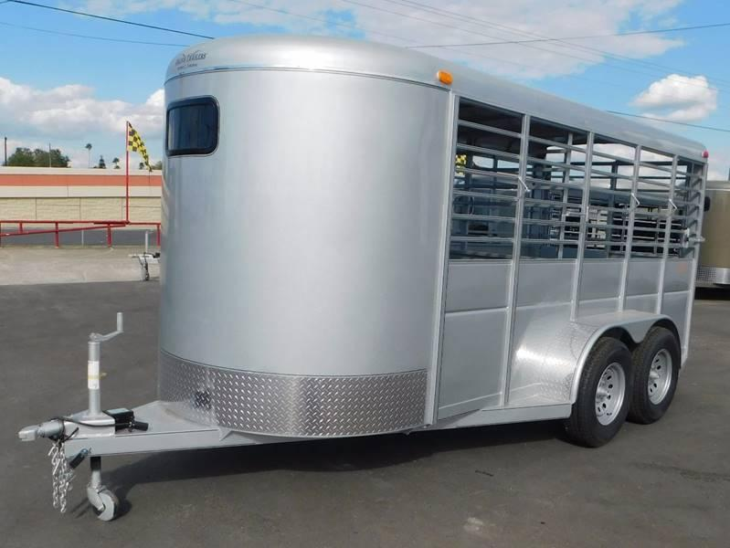 2021 Calico 16' Stock Trailer
