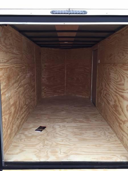 2020 Deep South 6 x 12 Tandem Axle Enclosed Cargo Trailer